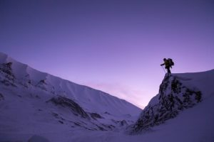 wandern mit Bergschuh